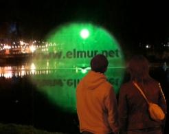 elmur zzz urban intervention video art collective visual dialogue Aqualuma