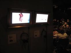 elmur zzz urban intervention video art collective visual dialogue Cafe del Teatre Lleida Spain LQ