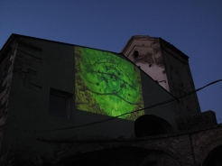elmur zzz urban intervention video art collective visual dialogue KCR rehlovice Chez Republic urban screening LQ