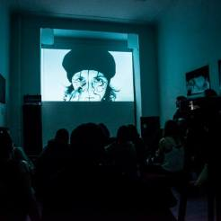 elmur zzz urban intervention video art collective visual dialogue Pop up Kino Berlin