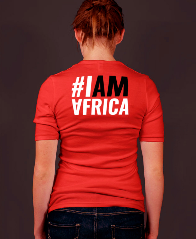 #IAMAFRICA a T-shirt to raise awareness